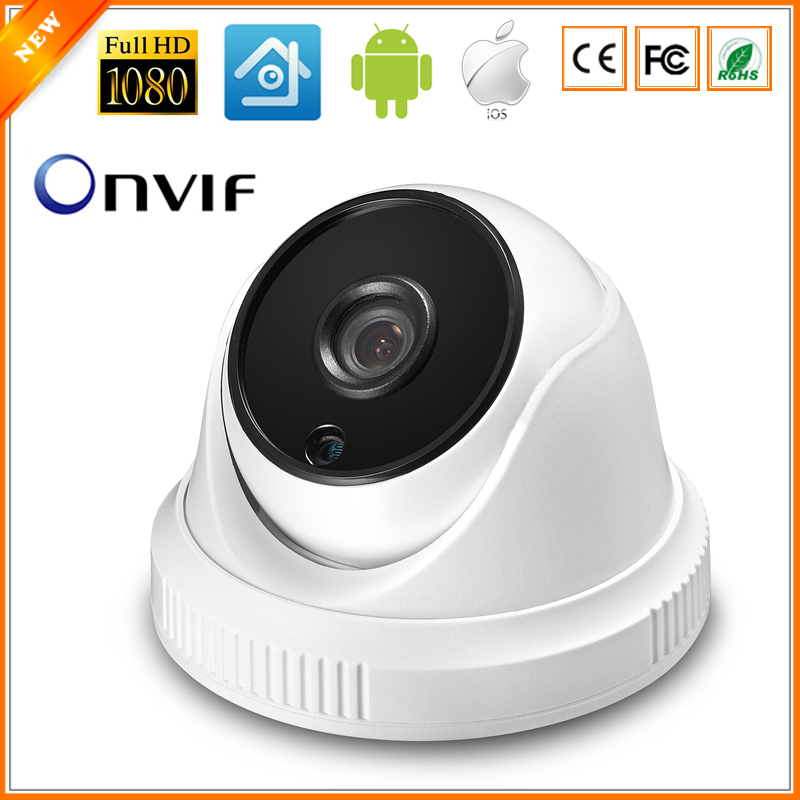 Starlight Camera IP 960P ( SONY IMX225 ) / 1080P (SONY IMX291 ) Indoor Dome Camera IP Camera CCTV P2P ONVIF Color Night Vision(China (Mainland))