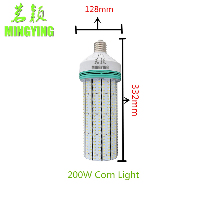 2016 NEW 200W LED Corn Light,LED Street Light, E40 LED 200W Bulb,Super Bright 5730 85-265V CE ROHS FCC(China (Mainland))