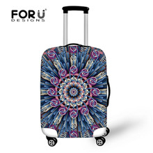 Buy FORUDESIGNS Big Flower Luggage Cover Protector Fashion Suitcase Cover Trolley Durable Dust-proof/Stretch Travel Luggage Covers for $15.99 in AliExpress store