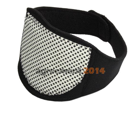 Magnetic Therapy Neck  Spontaneous Heating Headache Belt Neck Massager ARE4(China (Mainland))