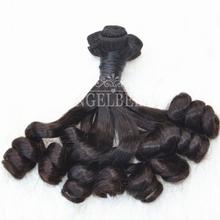 Angelbella 2015 New Brazilian Funmi Double Drawn Human Hair Weft 300G/Lot 10-16Inch Brazilian Funmi Hair Bundles Free Shipping