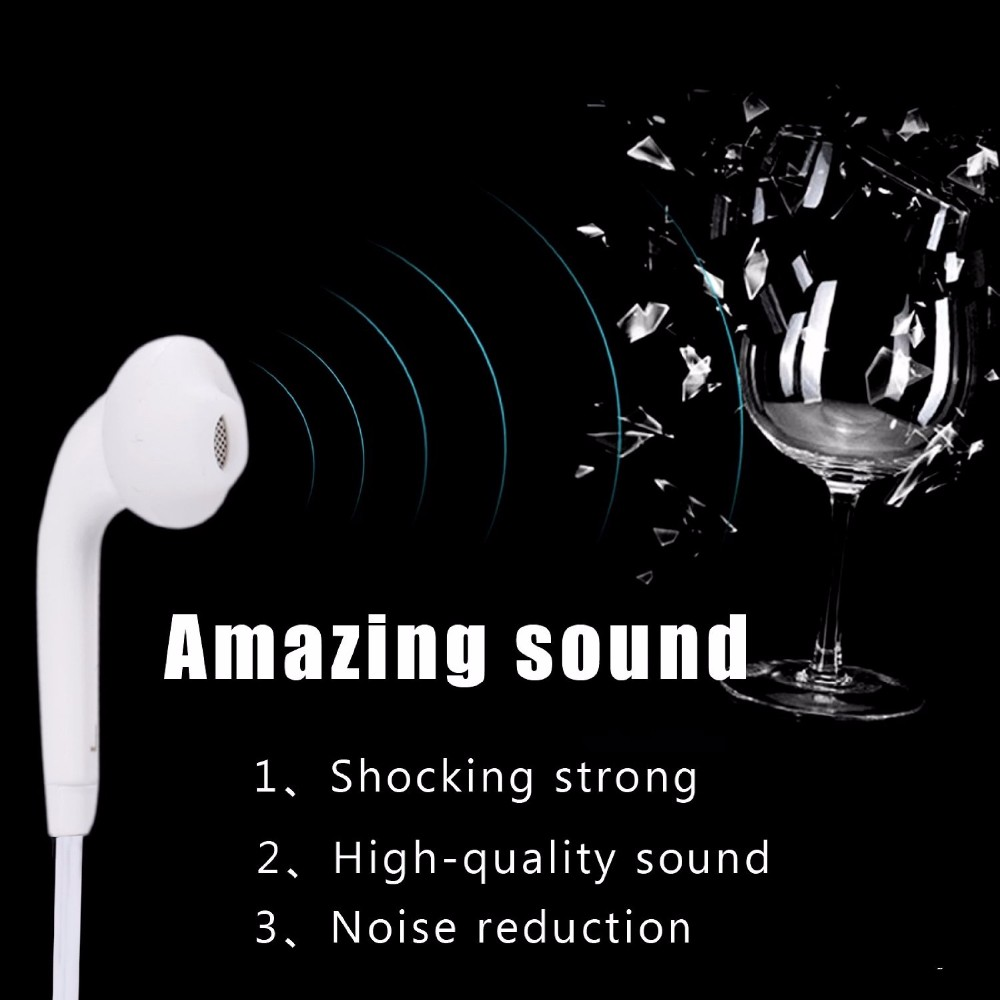 1000pcs/lot New EG920 Earphone with Remote and Mic for Samsung Galaxy S6 Edge S5 S4 A7 note4 note2 HTC LG Vivo Smartphone Tablet