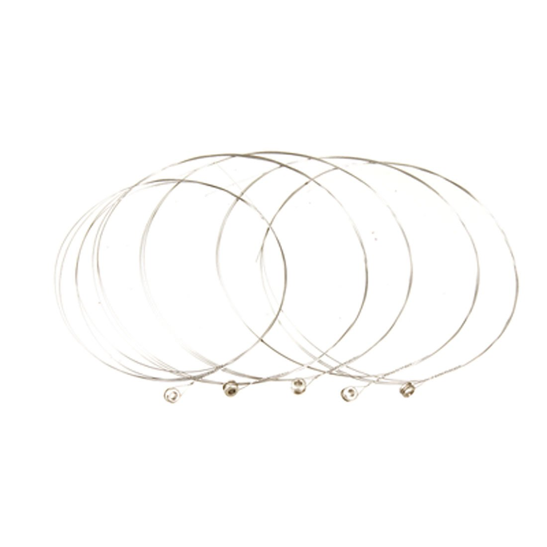 Good deal 5 Pcs Silver Tone Steel Strings E-1 for Acoustic Guitar<br><br>Aliexpress
