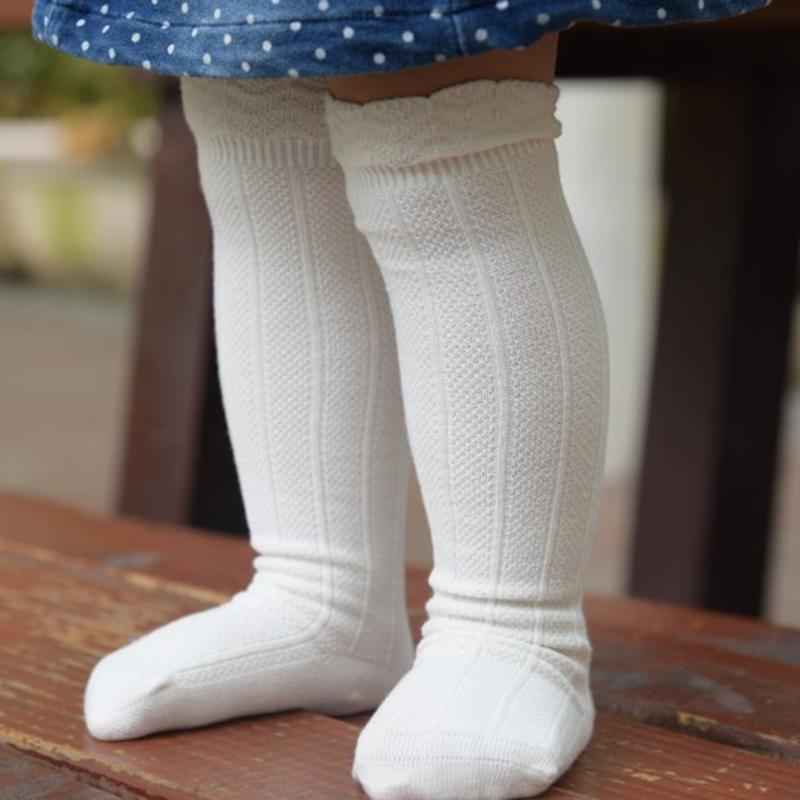 Summer Autumn 1Pair Baby Newborn Toddler Knee High Lace Sock Long Boys Girls Cute Leg Warmers For Newborns Infantile Fox Socks(China (Mainland))