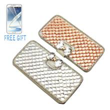 Buy Bling Bling Case Samsung Galaxy S7 Luxury Crystal Diamond Bling Leather Flip Bag Samsung Galaxy S7 Edge Phone Case Cover for $7.36 in AliExpress store