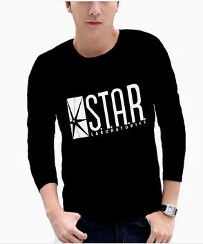 Мужская футболка Star Labs Shirt Tshirt  Labs Laboratories