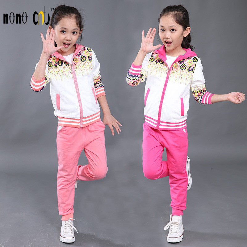 Fashion Sport Children's Clothing Spring Autumn Winter Baby Clothing Suits Casual Kids Clothes Suit 2 Pcs Sweatshirt Pants Suits(China (Mainland))