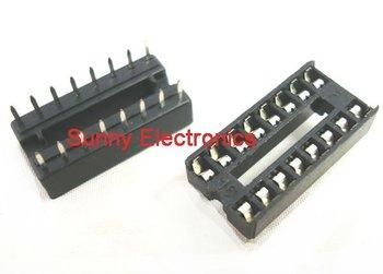 Free shipping 20 x 16 pin DIP IC Sockets Adaptor Solder Type Socket