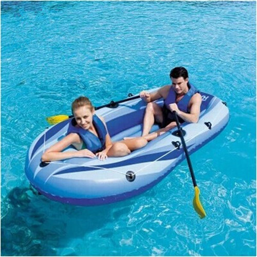 Kingtoy Free shipping 2-3 adults inflatable boat for fishing, zodiac boat with paddle(China (Mainland))