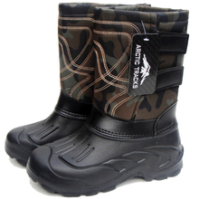 ARCTIC TRACKS Brand Autumn Winter Warm men shoes fashion snow boots military fishing skiing waterproof casual mid-calf shoes