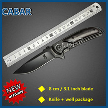 Cabar  2015 New Arrival 80mm Single Blade Hunting Camping Diving Outdoor Knife Top Quality
