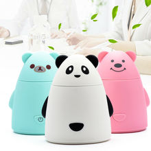 USB Mini Cartoon Air Humidifier DC 5V Diffuser Air Purifier Mist Maker Fogger Ultrasonic Humidifiers Office Home Free Shipping(China (Mainland))