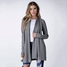 7993 Women Sweater Long Sleeve Knitted Cardigan Loose Casual Sweater Coat Outwear Jacket(China (Mainland))