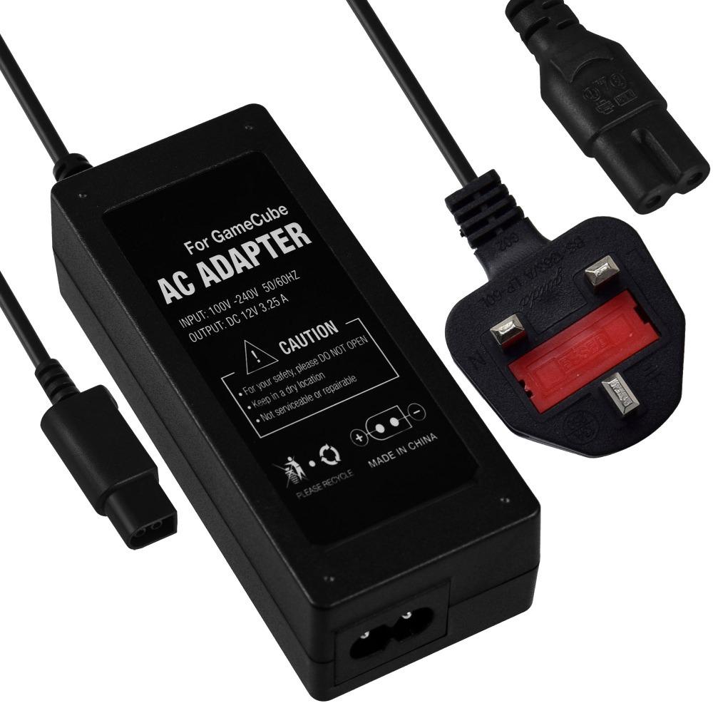 Universal AC Power Adapter Supply for Nintendo for GameCube UK 3 Flat Plug(Hong Kong)