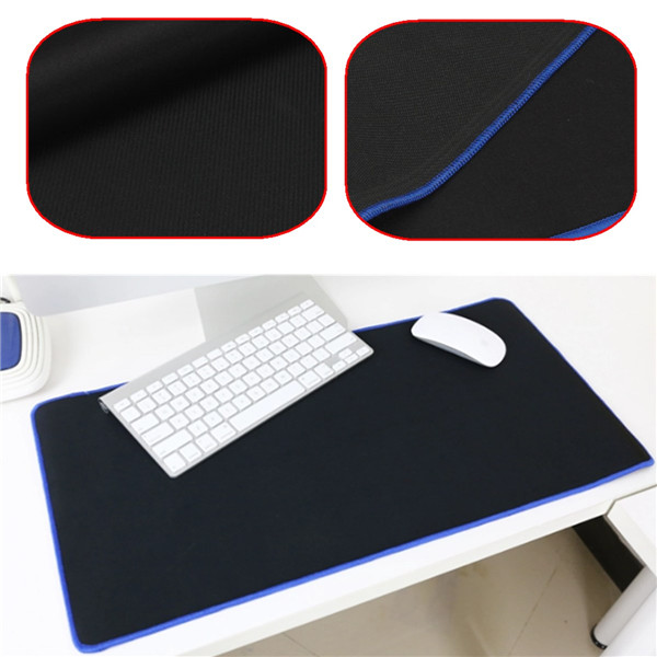 universal Large 60*30CM Rubber Sift Simple Surface Clean Cover Pro Gaming Mouse Mat Keyboard Pad for PC Laptop Computer Notebook