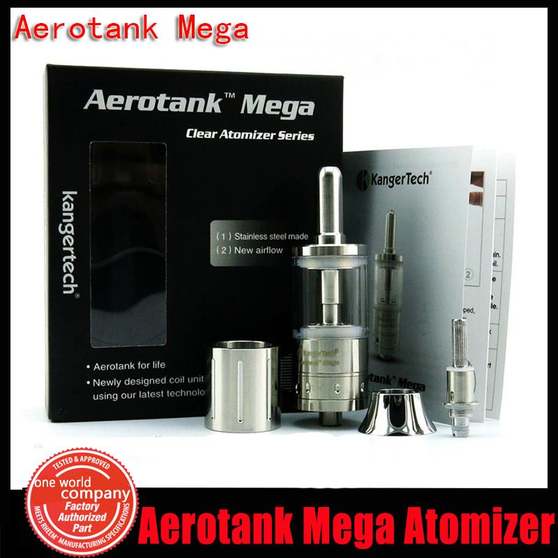 Genuine Kanger Aerotank Mega Atomizer with Airflow Control 3.8ml Capacity KangerTech Bottom Coil Clearomizer Fit For APV MOD(YY)<br><br>Aliexpress