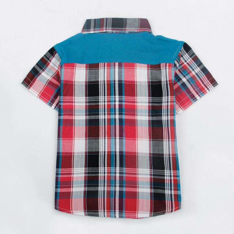 Здесь можно купить  FREE SHIPPING C4062# 18m/6y NOVA kids wear 2013 new fashion baby boys clothing summer plaid/check short sleeve T-shirts for boys  Детские товары