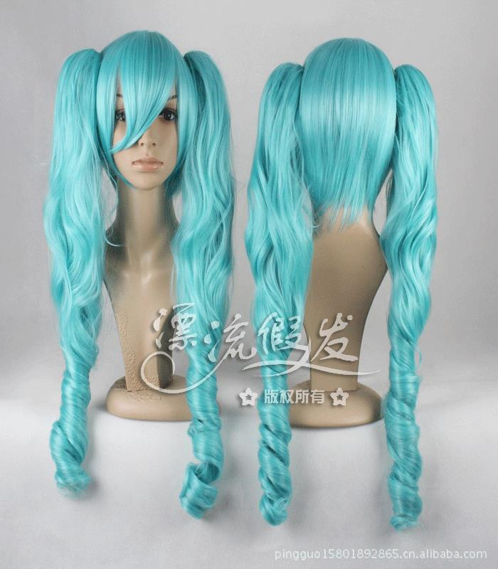 Гаджет  MIKU V home Early note at the beginning of the future cos wig Jaws clamp COS  None Изготовление под заказ