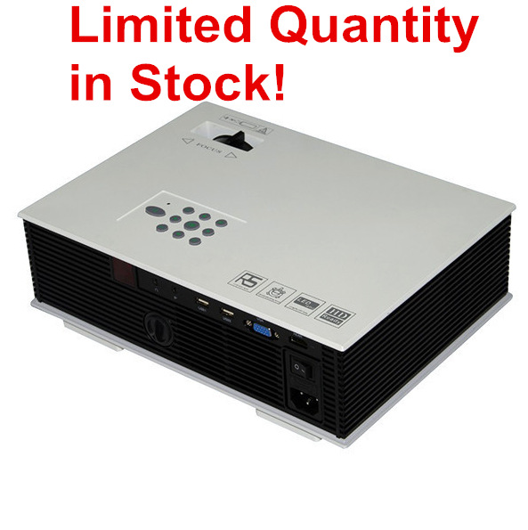 In stock UNIC UC80 projector 1500lumens Korean Version LED Proyector Full HD multimedia video game Beamer home theater Russia(China (Mainland))
