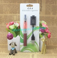 New Arrival eGO CE4 blister kit  colorful Electronic Cigarette Blister Kits E Cigarette evod  650mAh/900mAh/1100mAh Electronics