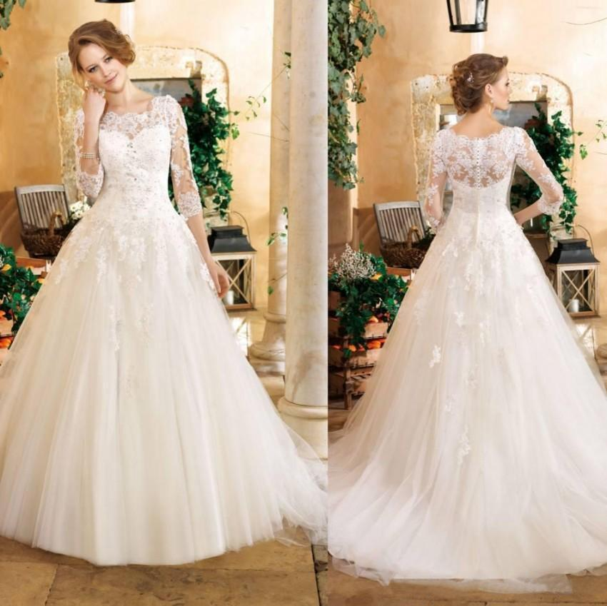 Online buy wholesale church wedding dress from china for Dresses for church wedding