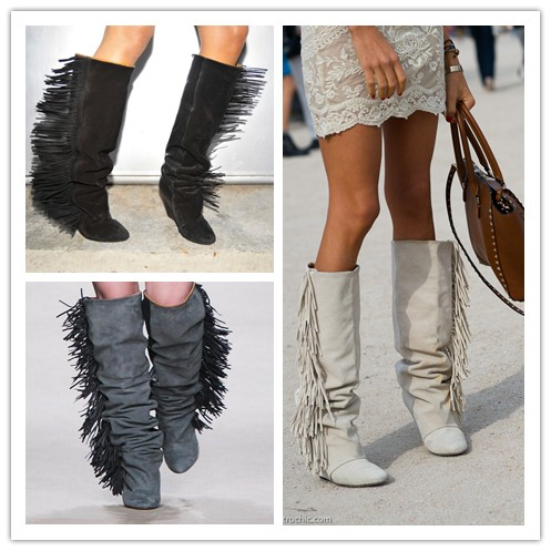 Cheap Fringe Boots Suede Promotion-Shop for Promotional Cheap ...