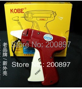 Retail super Quality KOBE brand korean technology hang tag gun Tagging needle Gun(China (Mainland))