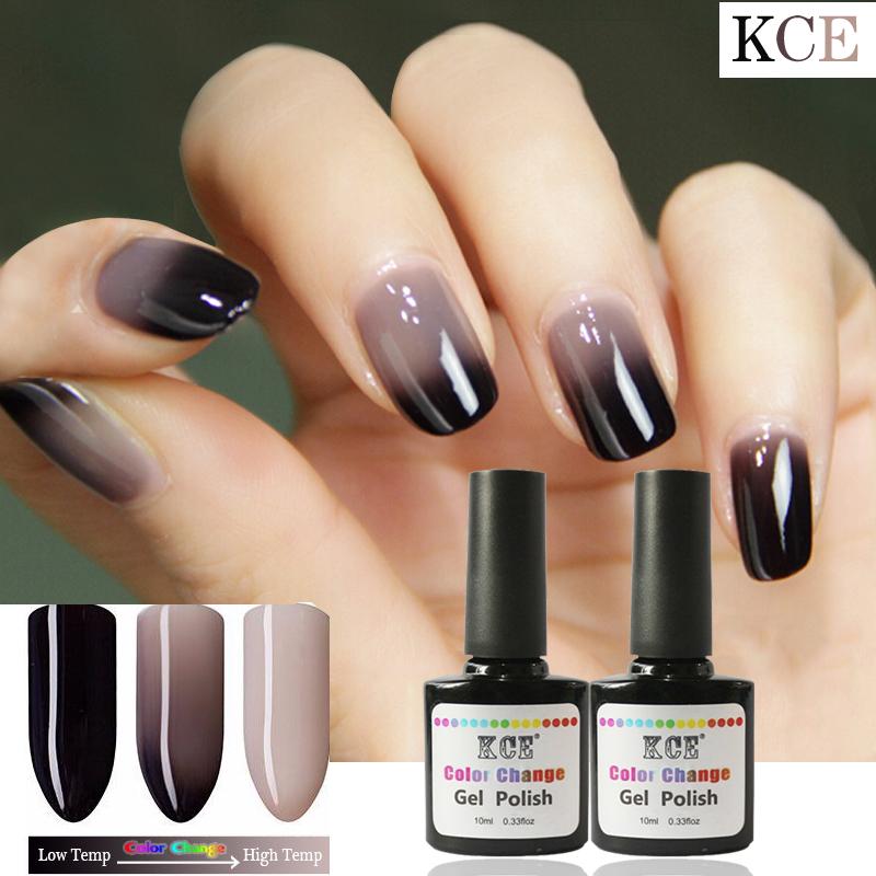 New Product Gel Nail Polish Temperature Change Nail Color UV Gel Polish 7g/pcs Nail Gel for Nail soak off gel polish(China (Mainland))