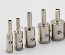 Envío gratis de electrochapado diamante fino estupendo pared agujero consideró la herramienta 25 * 51 * 21 mm para procesamiento de jade pulsera tienda