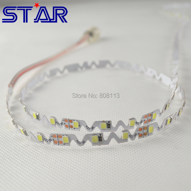 Special for Luminous Letters! SMD2835 0.1W/0.2W 72leds Flex LED Strip Light, Better for Backlit Letters Signage than LED Module(China (Mainland))