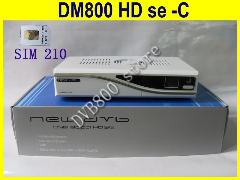 white color digital TV newdvb 800SE-C DM receiver 800HD se-c cable tuner(China (Mainland))