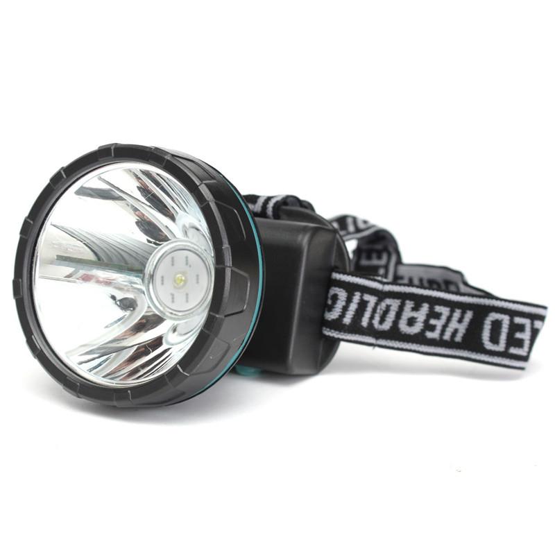 5W Power White LED Miner Light Headlight Mining Lamp For Hunting Camping Fishing Black Battery Capacity 3600mah<br><br>Aliexpress