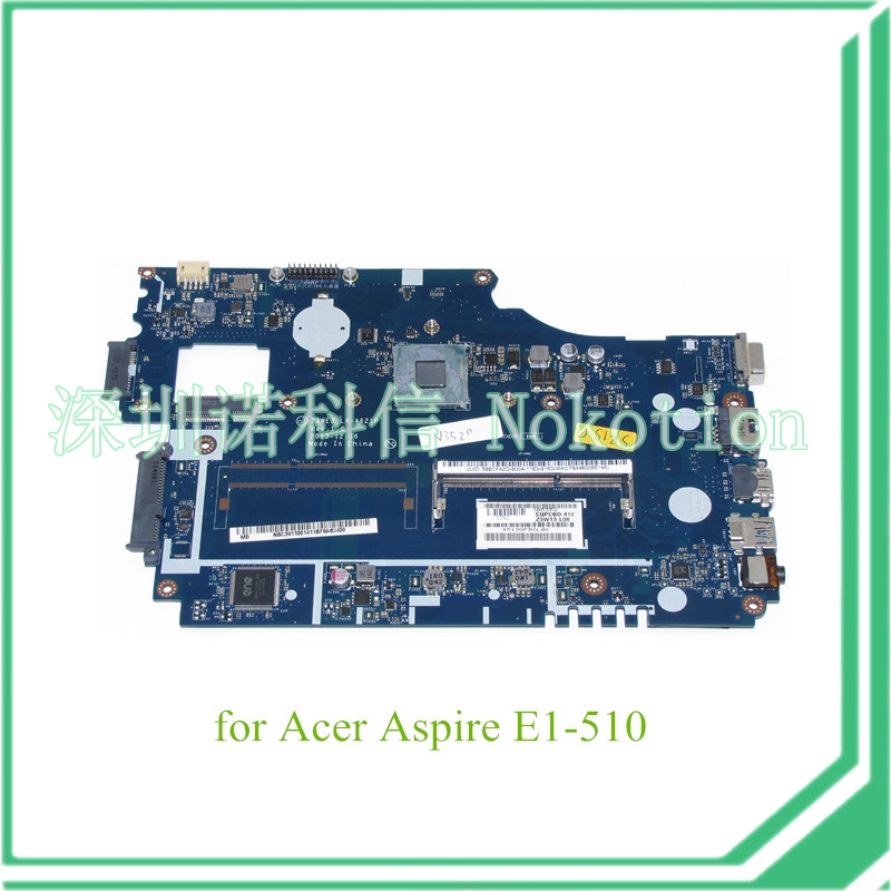 laptop motherboard for Acer Aspire E1-510 NBC3911001 NB.C3911.001 Z5WE3 LA-A621P CPU HM86 DDR3(China (Mainland))