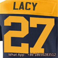 Men's #12 Aaron #18 Randall #21 Ha Ha #27 #52 Clay #87 Jordy Men's White Green Navy Football Jersey 100% Stitched with Customize(China (Mainland))