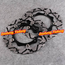 Front Brake Disc Rotors Yamaha X-MAX YP R 125 250 & XP T-MAX 500 2004 2005 2006 2007 Black Color, Motorcycle Spare Parts - Guangzhou Yuanfeng Motor Co., Ltd store
