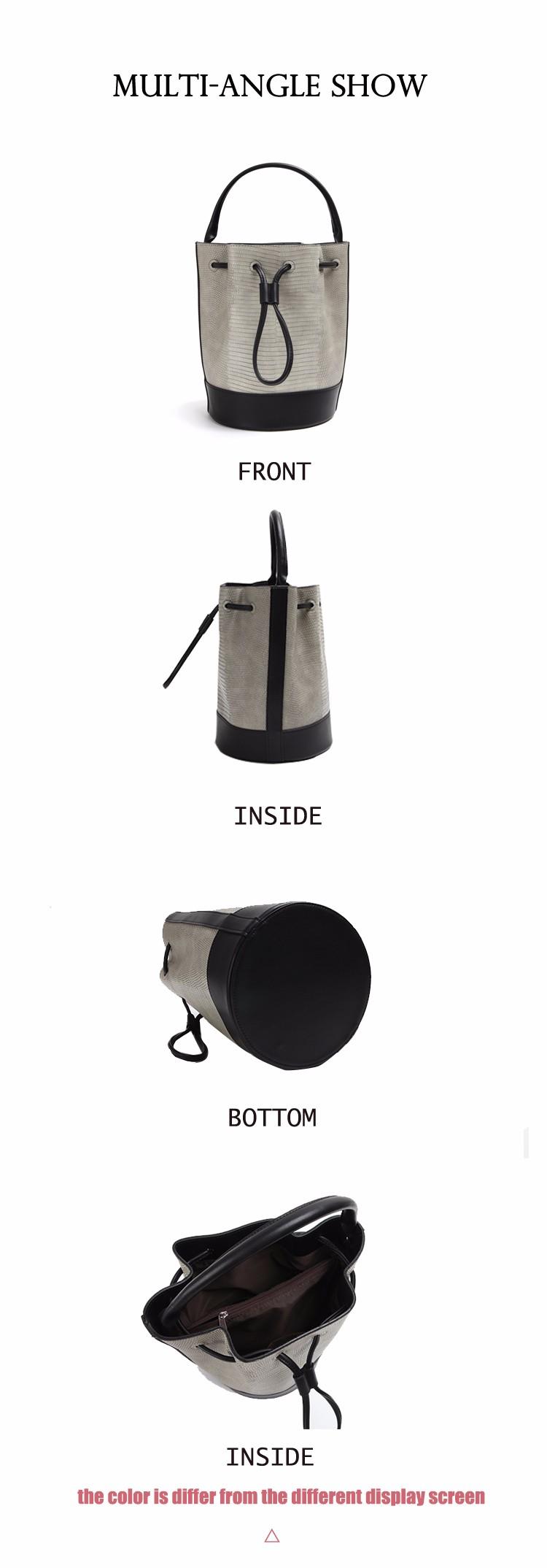 ซื้อ ที่มีชื่อเสียงผู้หญิงR Etroกลับกลอกกระเป๋าถือยี่ห้อสุภาพสตรีหนังPUไหล่ถุงสิริDrawstringถังวินเทจสิริMwssengerถุง