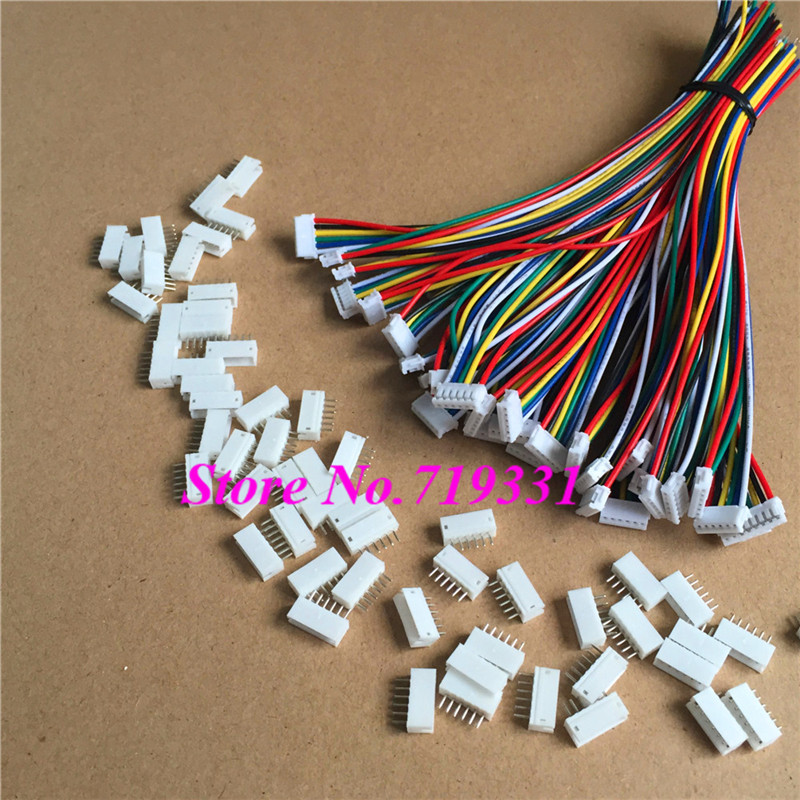 1000 SETS  Mini Micro ZH 1.5 6-Pin  ZH Connector with Wires Cables<br><br>Aliexpress