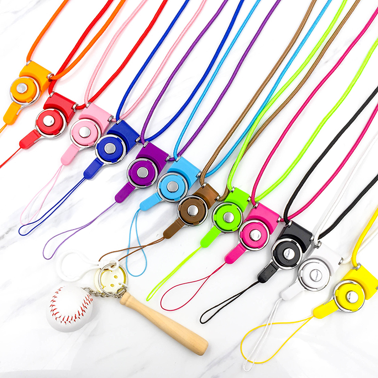 Fashion Universal Detachable lanyard for phone neck Mobile Phone Straps lariat with free shipping(China (Mainland))