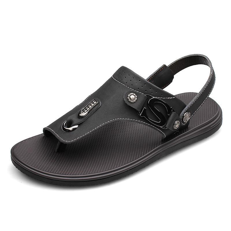Summer Men's Flip Flops Beach Shoes Male Mans Footwear Fashion Casual ...
