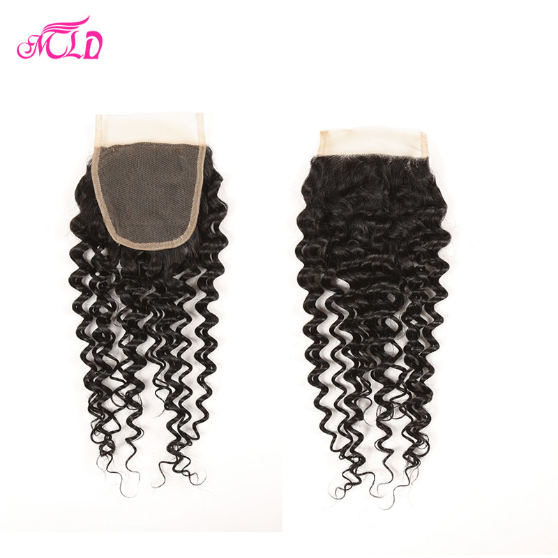 3 Bundles Peruvian Kinky Curly Virgin Hair With Closure #1b Peruvian With Closure 7a Peruvian Virgin Hair With Closure 100g/Pcs