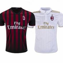 2016 2017 AC milan Camiseta MENEZ EL SHAARAWY Honda soccer jersey 16 17 survetement Maldini football shirts(China (Mainland))