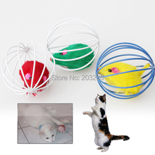 Best Gift Cute Pet Cat Kitten Gift Funny Play Toys Mouse Ball Brand New