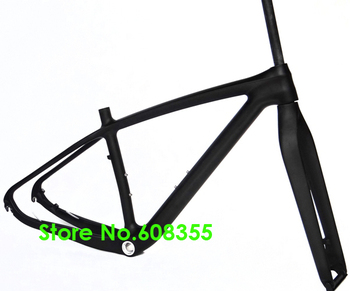 """FR-219 - Full Carbon Matt Matte MTB Mountain Bike 29ER (BSA English BB) Frame and Fork - 15.5"""", 17.5"""", 19"""" (Gift : headset)"""