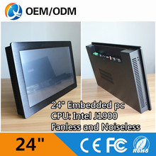 "Buy 24"" Industrial pc panel pc inter J1900 /WIFI /2*COM/ RJ-45/USB capacitive touch Resolution Resolution 1920X1080 for $772.52 in AliExpress store"