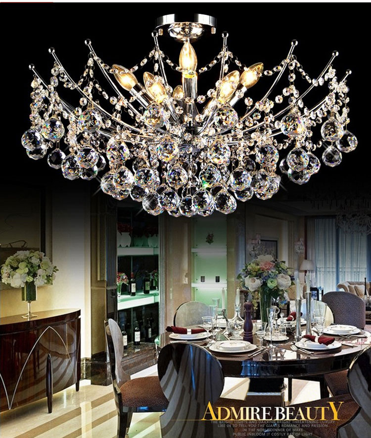 D12  Empire Mini Pendant Crystal Chandelier Chrome Finish - 3Lts w. Hanging kit Guaranteed100%+Free shipping!<br><br>Aliexpress