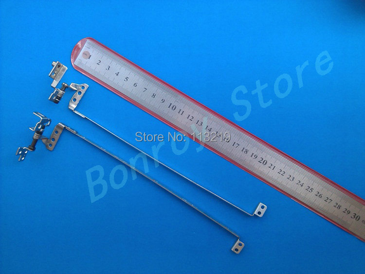 Genuine wholesale Price For Lenovo G460 G465 Z460 Z465 Notebook Lcd Screen Hinges Kit 100% New (10 pairs/Lot)(China (Mainland))