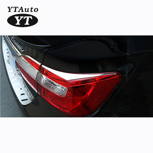 Auto rear light cover, tail lamp trim for Toyota Camry 2012-2014,stainless steel auto accessories,free shipping.4pcs(China (Mainland))