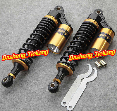 15 3/4 400mm Adjustable Air Shock Absorbers for Yamaha YFZ 450 ATV Gold,  China Motorcycle Parts &amp; Accessories Manufacturer<br><br>Aliexpress