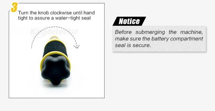 2017 USA Technology Waterproof Iking730 Waterproof Pinpointer Handheld Metal Detector Pinpointer