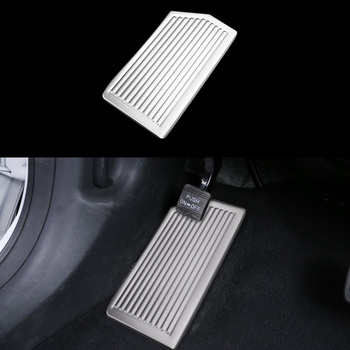 Car Break Pedal Interior Decoration Trim For Hyundai Tucson 3th 2015+ LHD Stainless Steel Accessories 2016 ABS Accessories